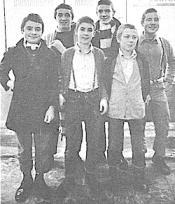 Skinheads fresh from school