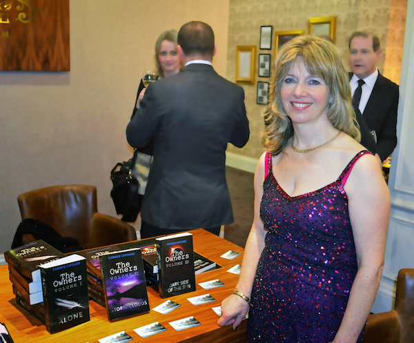 Our client Carmen Capuano at a recent book-signing event.