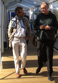 Erik Swyngedouw (left)