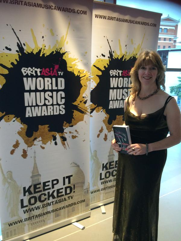 Carmen Capuana at the BritAsia TV World Music Awards.